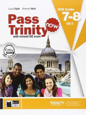 Pass trinity now book dvd grades 7 8