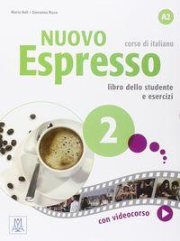 Nuevo espresso 2 alumno+dvd