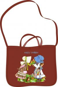 Bolsa con tracolla marron holly hobbie