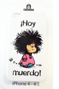 Carcasa iphone 4s mafalda hoy muerdo