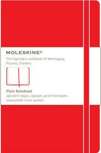 Cuaderno rojo liso l