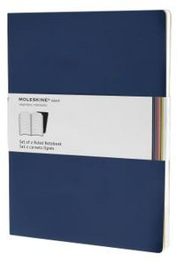 Notebooks azul rayado blanda xl