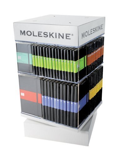 Moleskine expositor table 6 pl table spinner p l