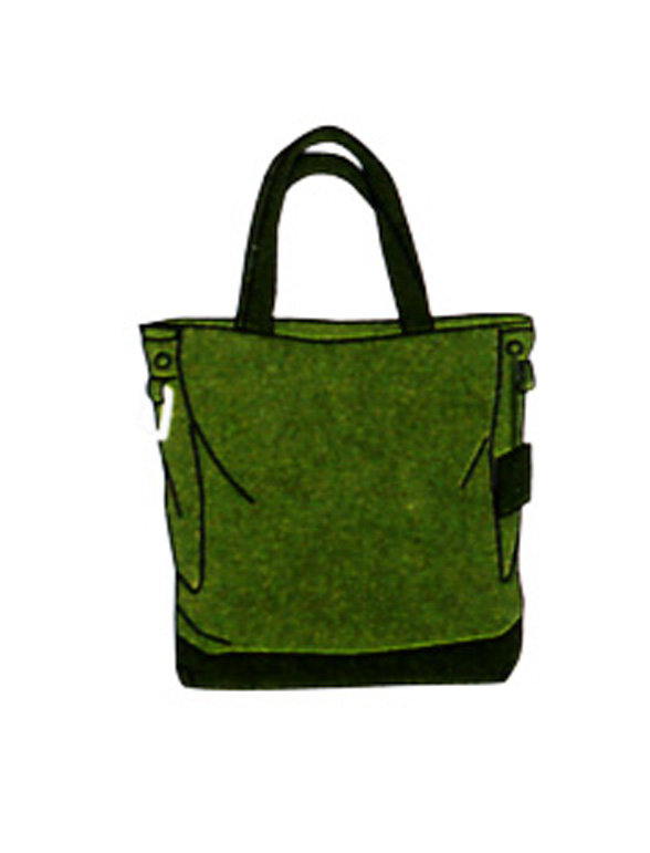Bolso shopping my cloud tote bag moss green