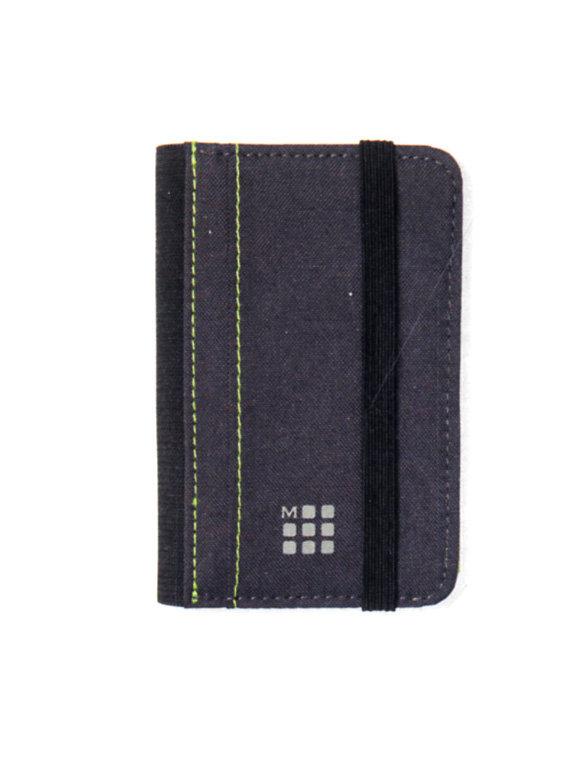 Cartera card wallet paynes grey