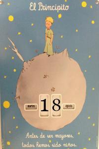 Calendario el principito perpetuo antes de ser mayores to