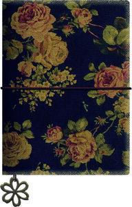 Libreta rosas oscuras