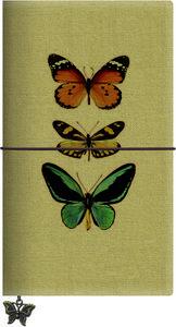 Libreta grande mariposas