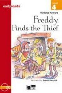 Freddy finds the thief+cd junior cideb