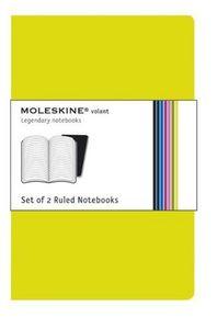 Notebooks verde rayado blanda p