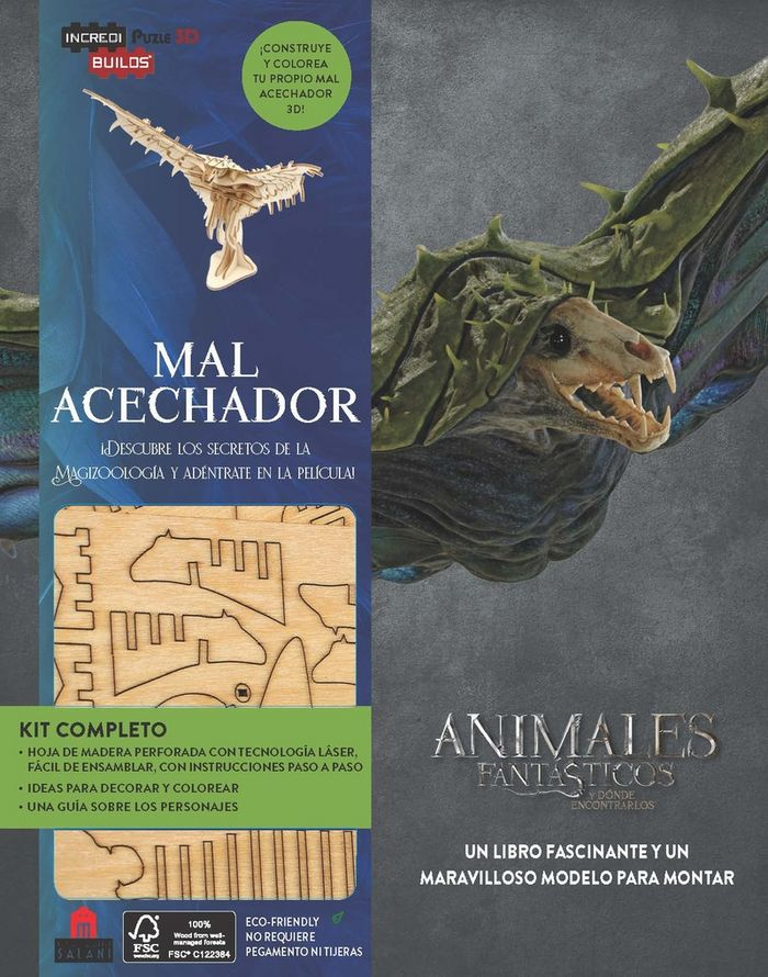 Incredibuilds animales fantasticos mal acechador