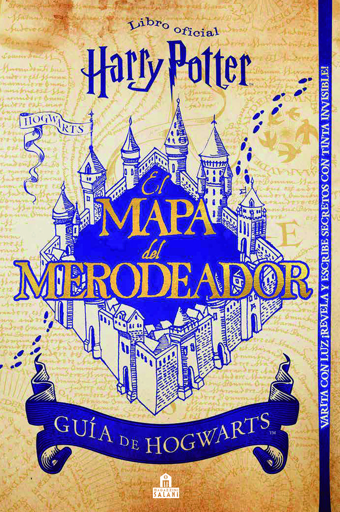 Harry potter mapa del merodeador