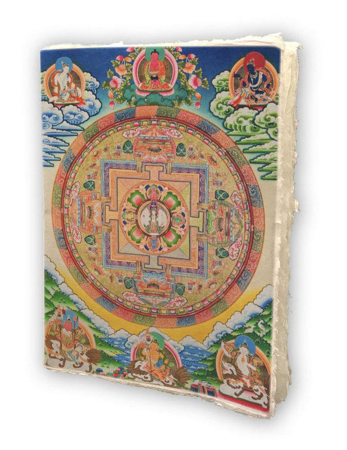 Cuaderno mandala nepal