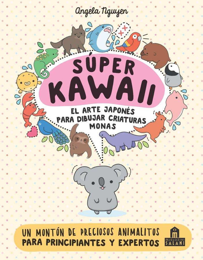 Super kawaii el arte japones para dibujar criaturas monas
