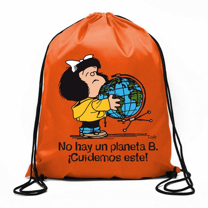 Bolsa de cuerdas mafalda no hay un planeta b