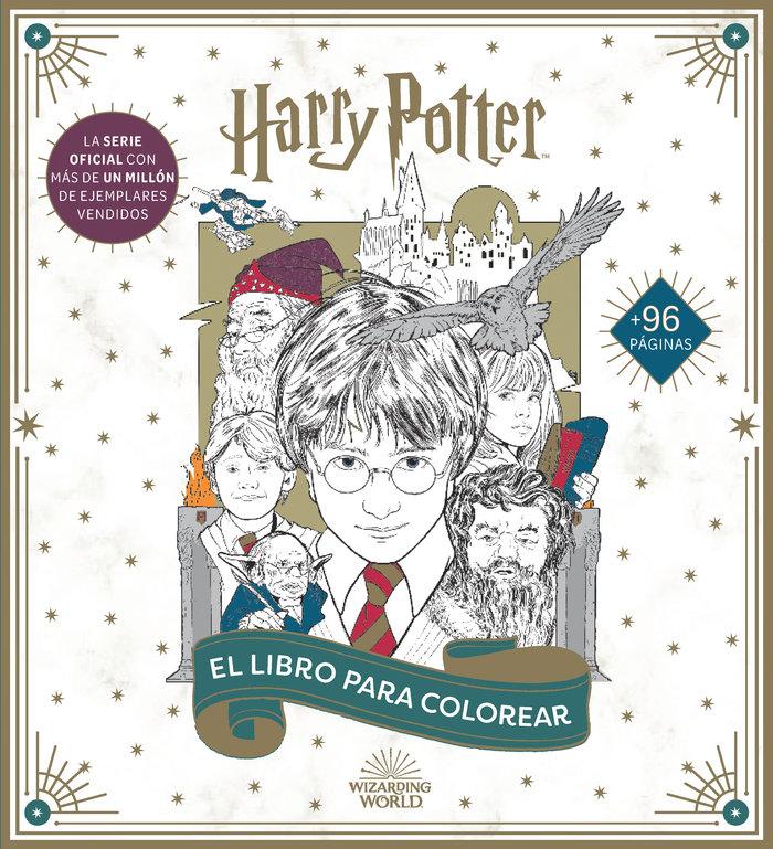 Harry potter el libro oficial para colorear