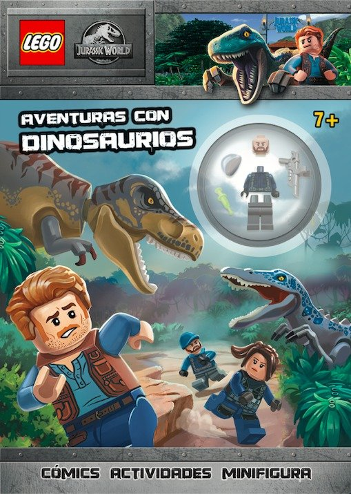 Jurassic world lego aventuras con dinosaurious