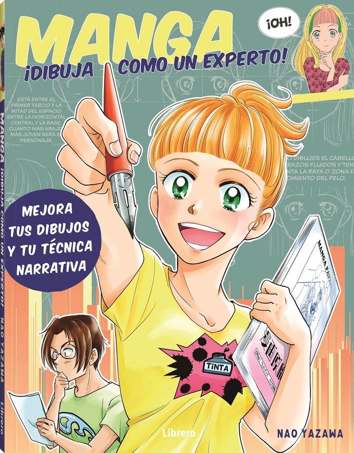 Manga dibuja como un experto