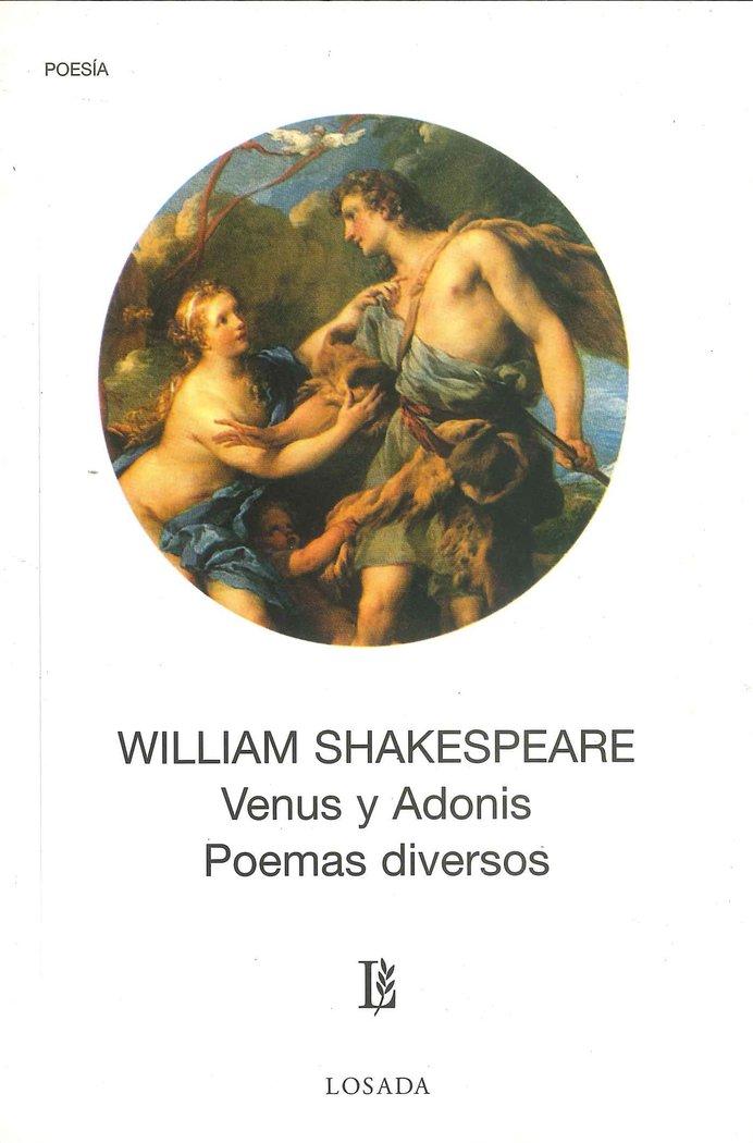 Venus y adonis poemas diversos