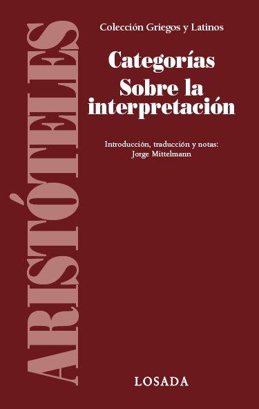 Categorias sobre la interpretacion