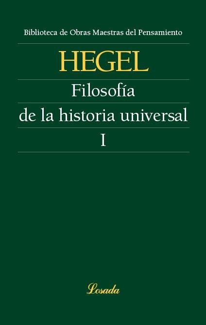 Filosofia de la historia universal i