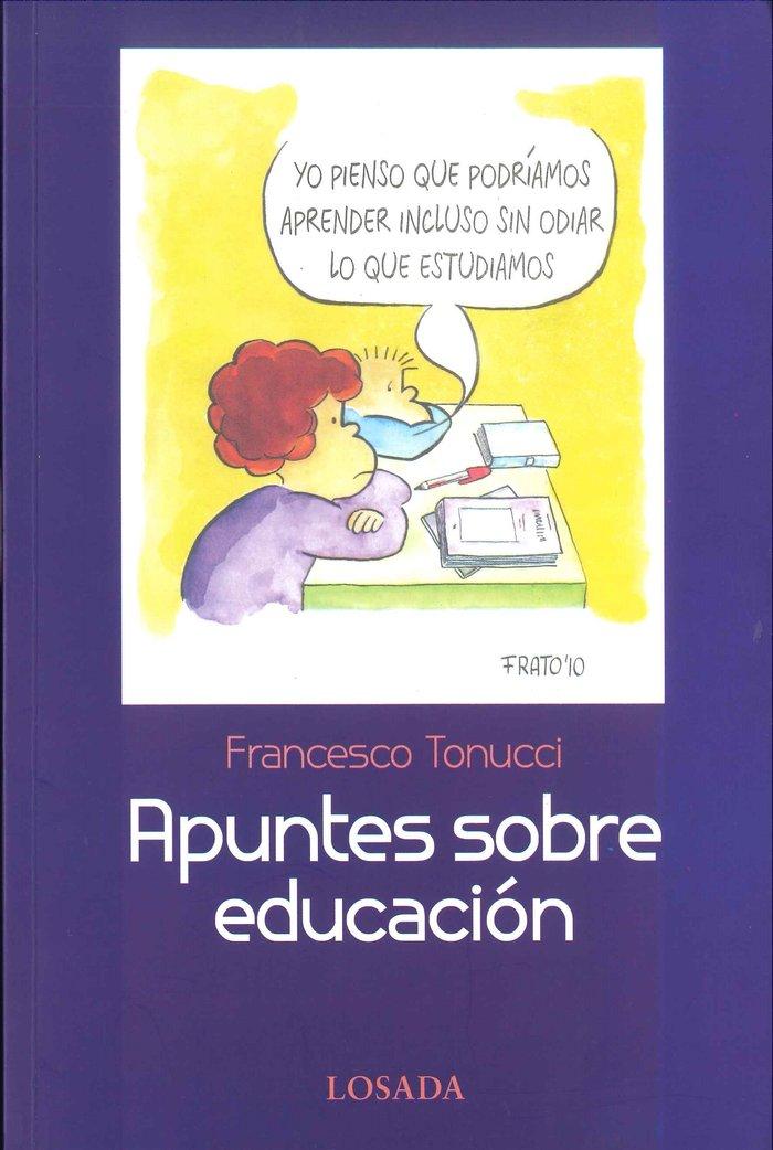 Apuntes sobre educacion