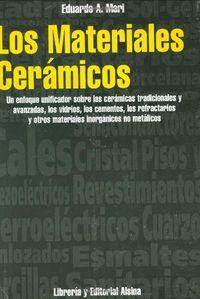 Materiales ceramicos,los