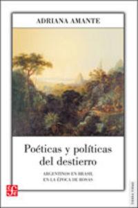 Poeticas y politicas del destierro
