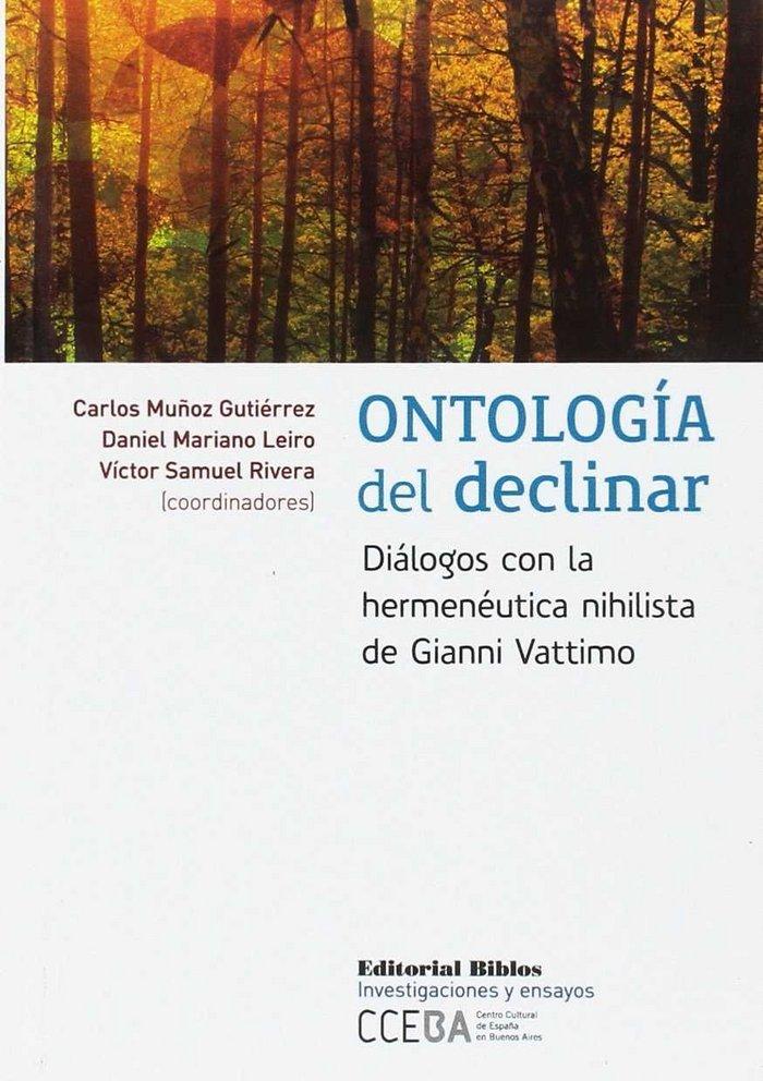 Ontologia del declinar
