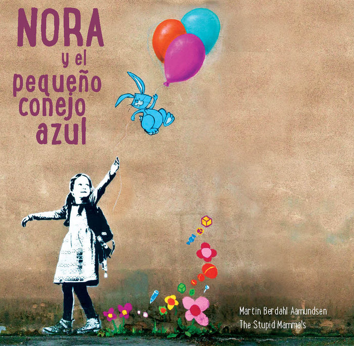 Nora y el pequeño conejo azul