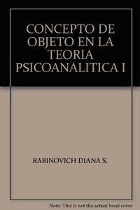 Concepto de objeto en teoria sicoanaliti