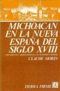 Michoacan en nueva espa\a