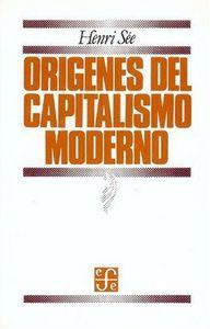 Origenes capitalismo moderno