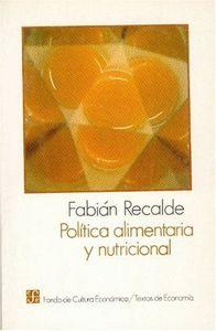 Politica alimentaria nutrici