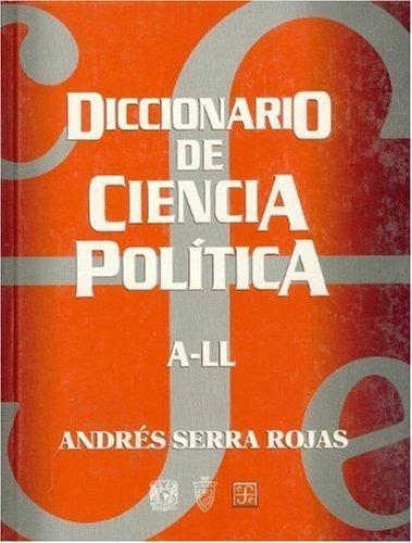 Diccionario de ciencia politica, a-ll