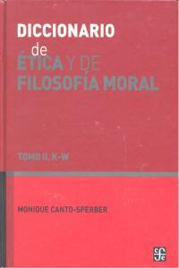 Dic.etica y filosofia moral tomo ii k-w
