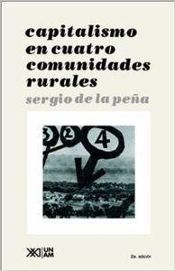 Capitalismo en cuatro comunidades agrarias
