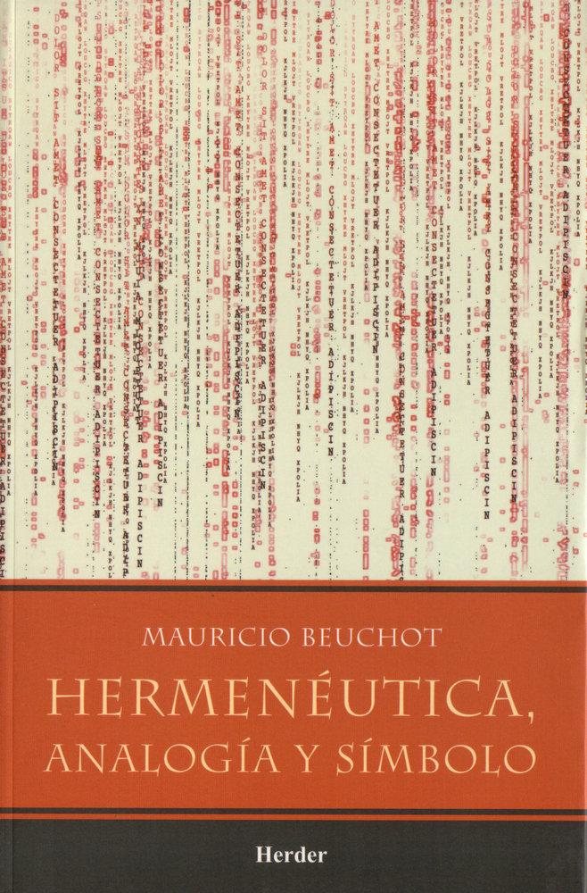 Hermeneutica, analogia y simbolo
