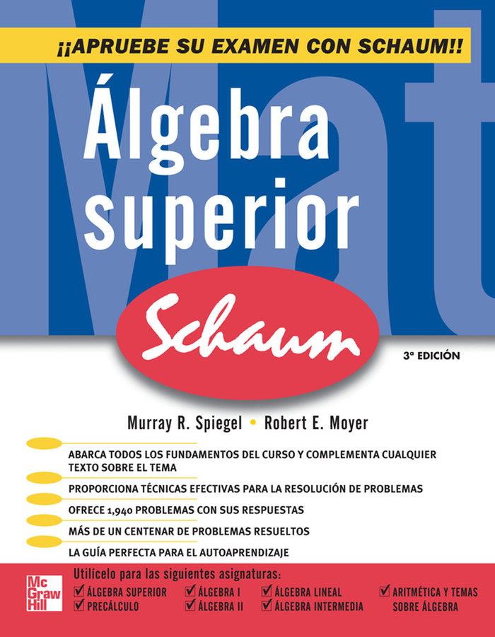 Algebra superior schaum 3ªed