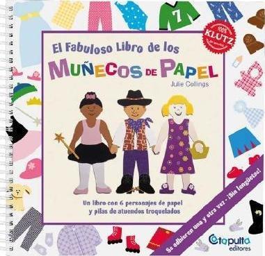 Fabuloso libro muñecos de papel,el