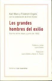 Grandes hombres del exilio,los