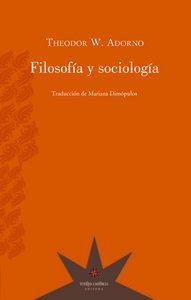 Filosofia y sociologia