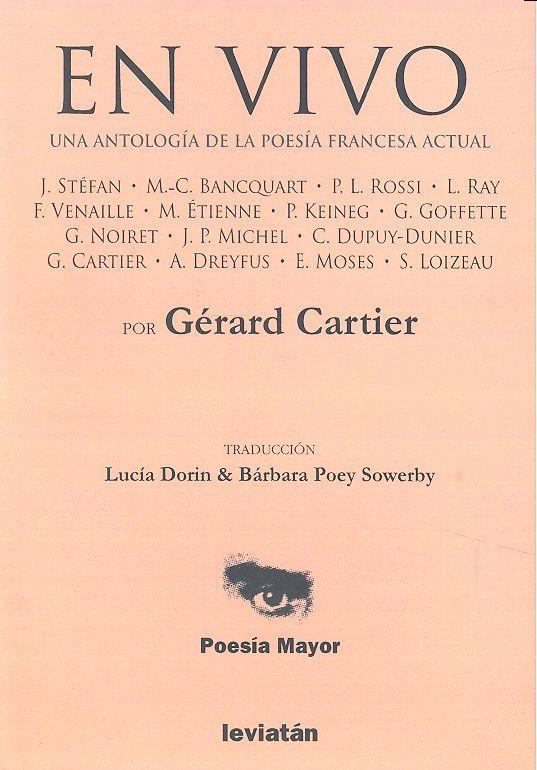 En vivo una antologia de la poesia francesa actual