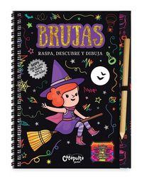 Brujas raspa descubre y dibuja