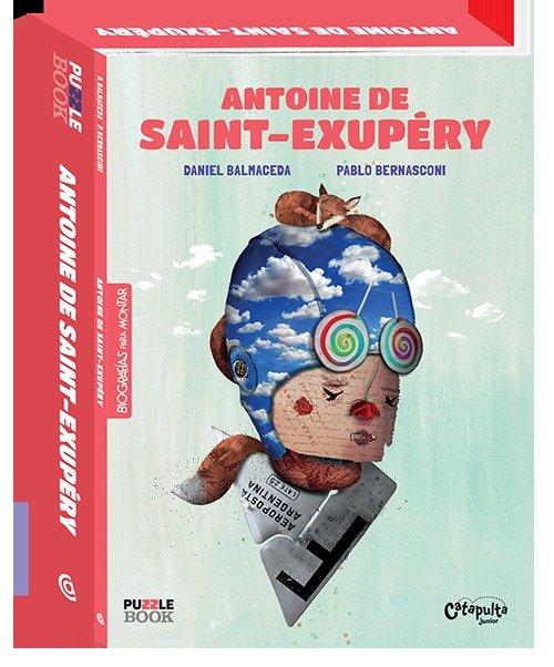 Antoine de saint-exupery biografias para montar