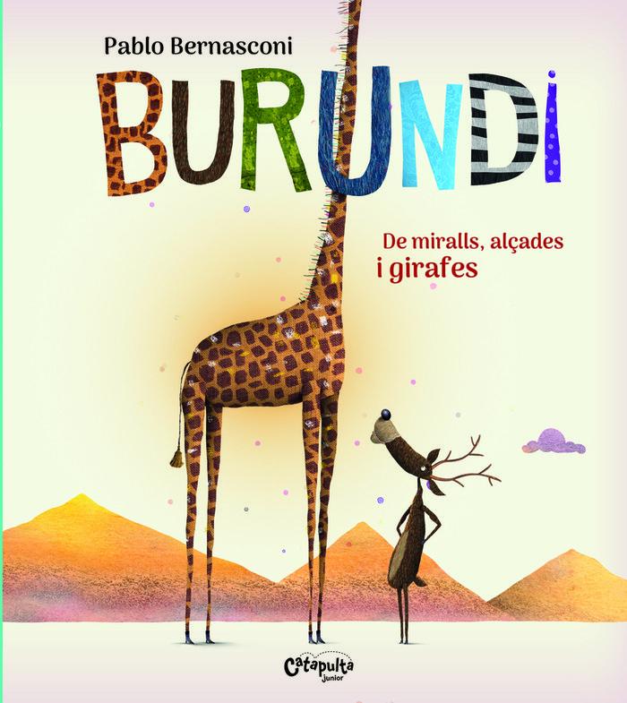 Burundi de miralls alçades i girafe