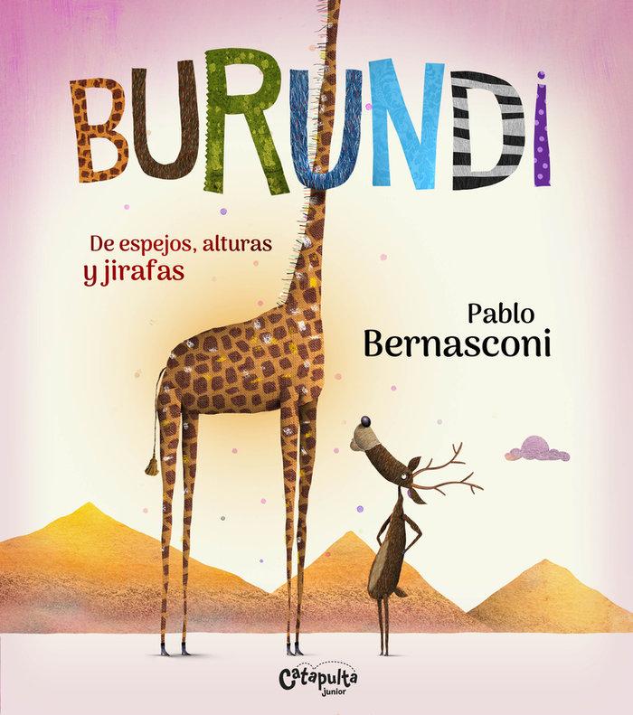 Burundi de espejos alturas y jirafas