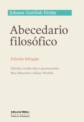 Abecedario filosofico edicion bilingue