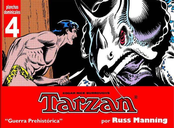 Tarzan planchas dominicales 4 guerra prehistorica