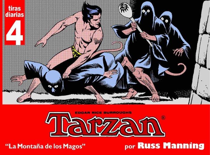 Tarzan las planchas dominicales 4 montañas de los magos